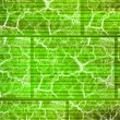 Stock Photo: Crackle green