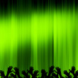 Green concert — Stock Photo