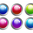 Buttons web — Stock Photo