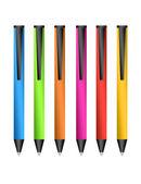 彩色的钢笔 — 图库照片