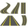 Stockvector : Roads illustrations