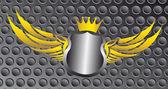 Blank emblem — Stock Vector