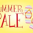 Summer sale — Vector de stock #6377678