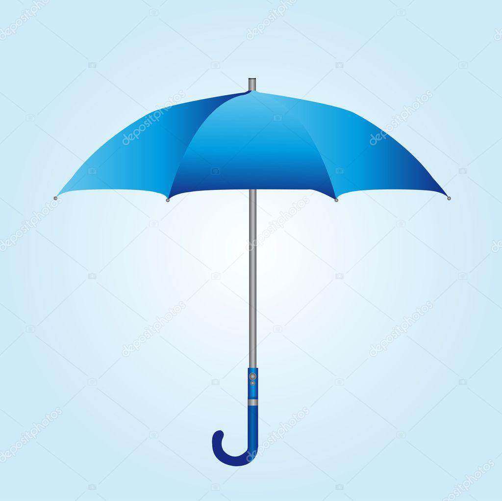 "24"" Landscape Blue  White Porcelain Umbrella Stand"