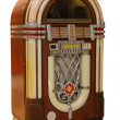 Old Jukebox Music Player - Stock Photo