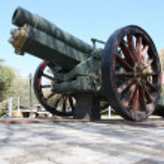 Howitzer Gun from WW2 — Stock Photo #6586144