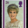 Princess DianPostage Stamp — Stock Photo #5798917