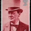 Постер, плакат: Winston Churchill Postage Stamp