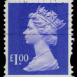 Britain Postage Stamp - Stock fotografie