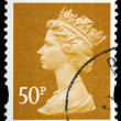 Britain Postage Stamp — Stock Photo