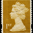 Britain Postage Stamp — Stockfoto