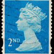 Britain Postage Stamp — 图库照片