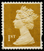 Britain Postage Stamp — Stock Photo