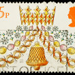 Christmas Postage Stamp — Stock Photo #6394771