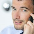 Businessman is calling — Stock Photo #5399530