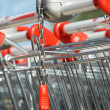 Supermarket Trolley — Stockfoto