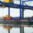 Stock Photo: Port Logistics