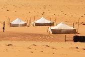 Beduínský tábor — Stock fotografie