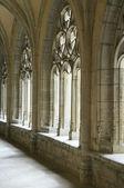 Ambronay cloister — Stock Photo