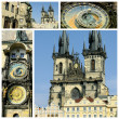 View of Old Town Square Prague city — Stock Photo #5707123