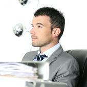 Serious businessman — Stock Photo