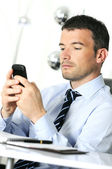 Businessman is calling — Stock Photo