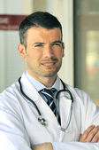Hospital doctor emergency — Stockfoto