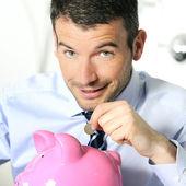 Economy piggy — Stock Photo