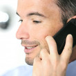Businessman is calling — Stock Photo #5723394