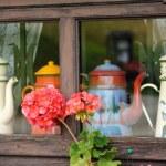 Chalet window — Stock Photo #5803740