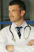 Hospital doctor emergency — Stock Photo