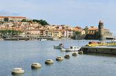 Bahía de collioure — Foto de Stock