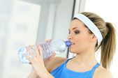 Bottle of water — Stock Photo