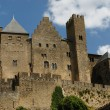 Castle at Carcassonne, France - Foto Stock