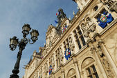 Paris - the City Hall — Foto Stock