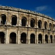 Roman arena in Nimes France — Stock Photo