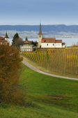 Lake Neuchatel — Stock Photo