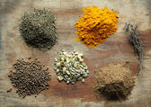 Choise of spices — Stock Photo