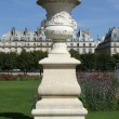 Ornament at Garden des Tuileries Paris — Stock Photo