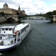 Boat on River Seine — Stock Photo #6449943