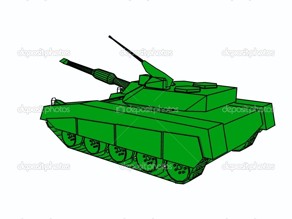 A style of  tank for army .  — Stock Photo #6697530