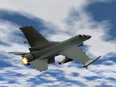 Fighter plane — Stock Photo