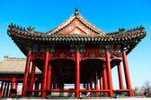 La ciudad prohibida en china, el palacio imperial. — Foto de Stock