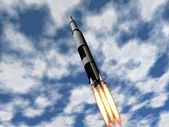 火箭 — 图库照片