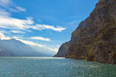 View Over Lake Garda in Italy — Foto de Stock