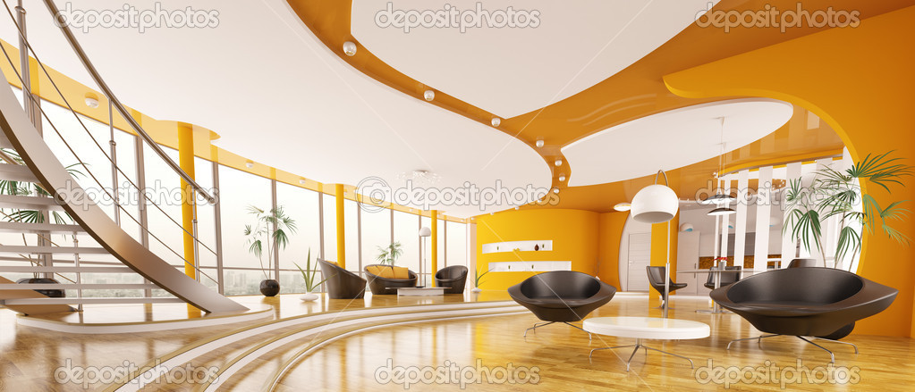 Magic Designs Modern Interior Design Private Apartment 3d Rendering