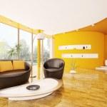 Interior of modern living room 3d render — Stock Photo #5452697