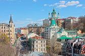 St. Andrew`s Church Kiev — Stock Photo