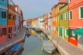 Burano colorful town in Italy — Stock Photo