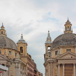 View of piazza del Popolo in Rome — Stock Photo
